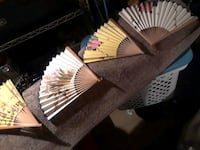 Old painted fans from China Ringgold, 30736