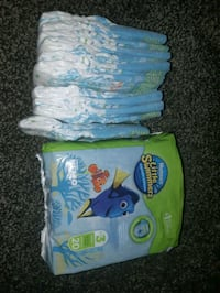 two blue and green plastic packs Hamilton, L8H 4H5