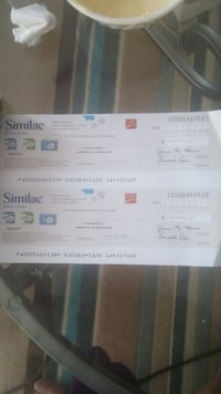 2 similac coupons Brampton, L6Y 4X8