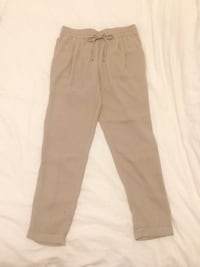 Zara Beige & Black Pants - Size Small Or 26 Vancouver
