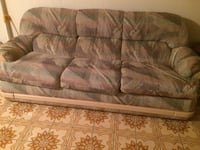 brown and gray fabric 3-seat sofa St Catharines, L2M 6V3