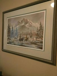 G.Jarvis numbered print #371/990 art. Maple Ridge, V2X 6B9