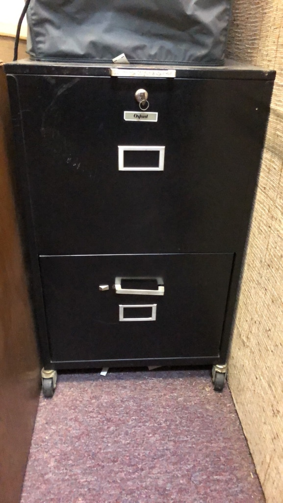 used gray metal 3 drawer horizontal filing cabinet for sale in rh gb letgo com