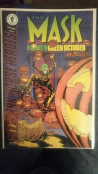 Halloween time!!!! - THE MASK Comic Books - The Hunt for Green October Victoria, V8P 3Y7