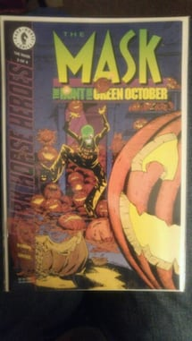 Halloween time!!!! - THE MASK Comic Books - The Hunt for Green October