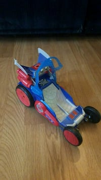 Spider man water car, transforms into  Hovercraft Buford