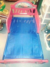 blue and red plastic bed frame Eastpointe, 48021