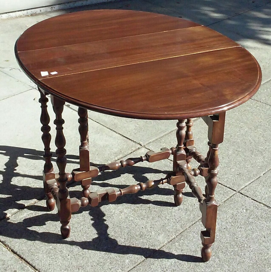 19371 colonial style gate leg drop leaf table rh us letgo com