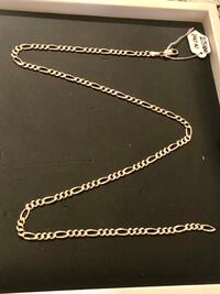 14K Solid Gold Men's Figaro Link Chain **TOP QUALITY!!!** New York, 10029