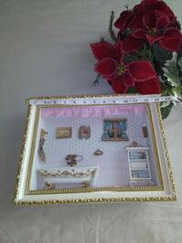 Beautiful Wooden Frame with illustration Frederick