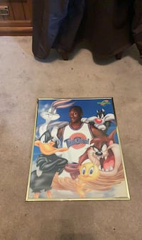 Space Jam Framed Picture