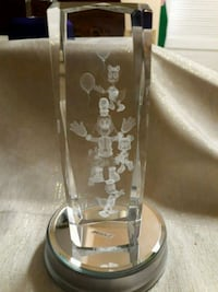 Mickey and friends 3d lazer etched glass  Chino Hills, 91709