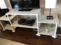 White practical TV stand Chicago, 60611