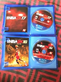 NBA 2K16 & NBA 2K17 Bundle Washington, 20019