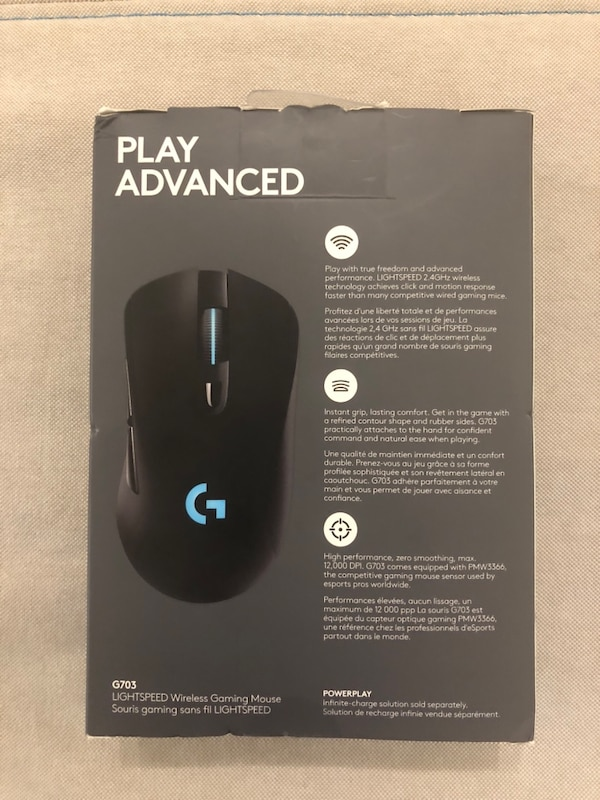 44950415935 Used Logitech G703 wireless, Gaming mouse. mouse for sale in Fremont - letgo