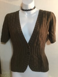 RW & Co. 2 Button Cardigan: Size Medium