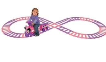 Minnie Mouse ride along train