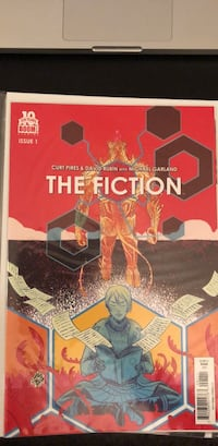 The Fiction 1 comic book Toronto, M6M 5C4