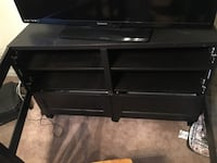 Glass front, two drawer tv stand Woodbridge, 22193