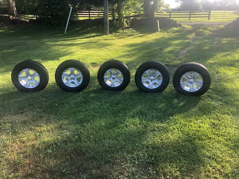 Wheel and Tire set  1