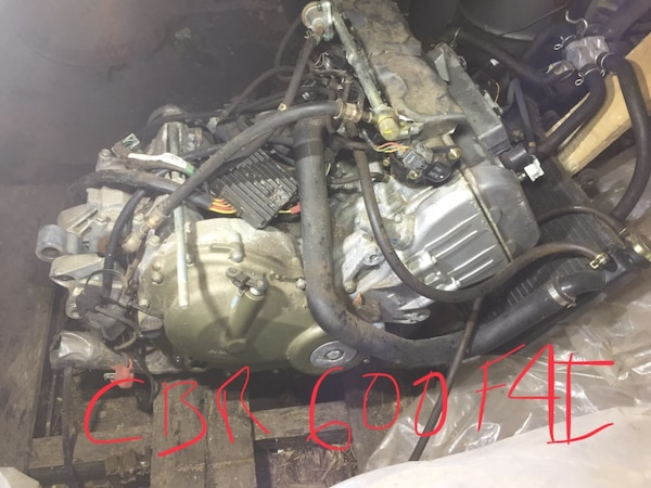 Used 2003 Honda Cbr600 F4i Motor And Accessories For Sale In