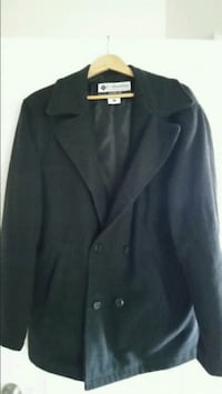 Large Columbia Dark Grey Peacoat Chantilly