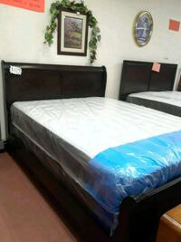 Queen size bed with New mattress  Lindsay, 93247