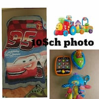 toddler's several learning toys collage Joliette