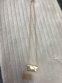 Gold plated necklace with pendant,so cute ,brand new  Calgary, T2B 3G1
