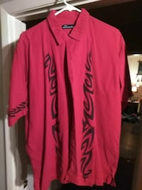 red and black tribal button-up t-shirt Owensboro, 42303
