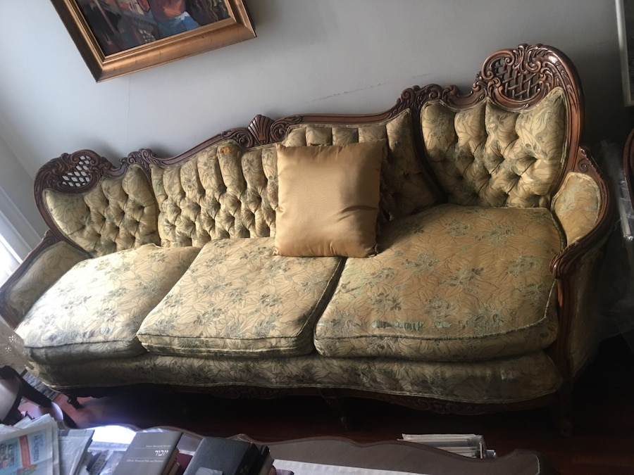 used high end custom made italian 3 seater couch 8 foot and 2 rh se letgo com