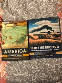 America and For the Record by David E. Shi books
