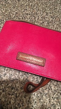 red leather Michael Kors wallet Cornelius, 28078