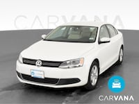 2014 VW Volkswagen Jetta sedan 2.0L TDI Sedan 4D White
