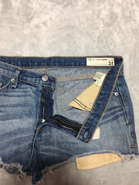 rag & bone/JEAN Denim Cut Off Shorts Size 31 Maple Ridge, V2W 0G4