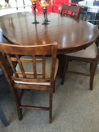 brown wooden dining table set Houston, 77036