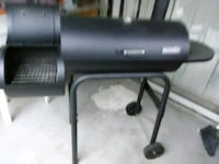 black and gray steel charcoal grill Maple Ridge, V2X 7X6