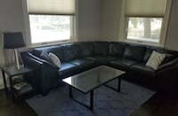 Black leather sectional Dallas, 75231