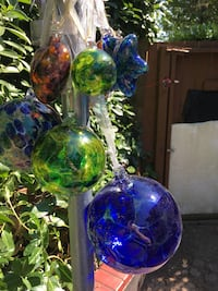 Hand blown glass orbs and other shapes  Surrey, V3R