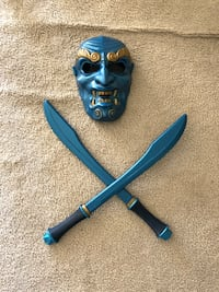 The Blue Spirit avatar the last air bender mask and swords 26 km
