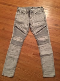 Gray and white denim jeans Buffalo, 14211