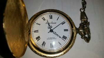Pocket watch gold