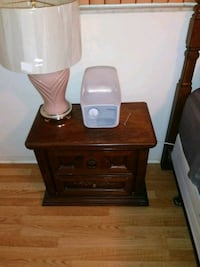 brown wooden side table with drawer New Port Richey, 34652