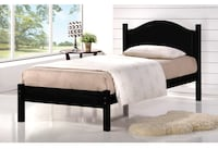 Solid wood bed brand new  Toronto, M1V 4Y5