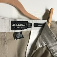 Vintage Eddie Bauer Relaxed Fit Khakis 35x32  Bloomfield, 06002