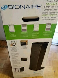 black and gray Lasko tower fan box Toronto, M3J 3C8