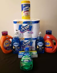 Tide Laundry Detergent Household Personal Care Lot  Greater Landover, 20785