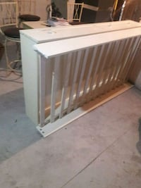 white and brown wooden crib Dover