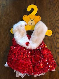 Build-a-bear Red sparkles outfit Mc Lean, 22101