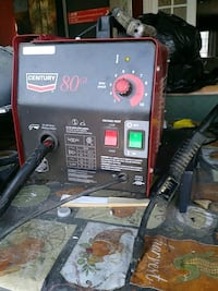 black and red Lincoln Electric welding machine Fontana, 92335